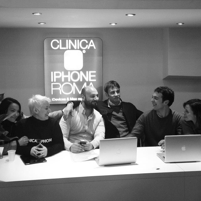 team clinica iphone