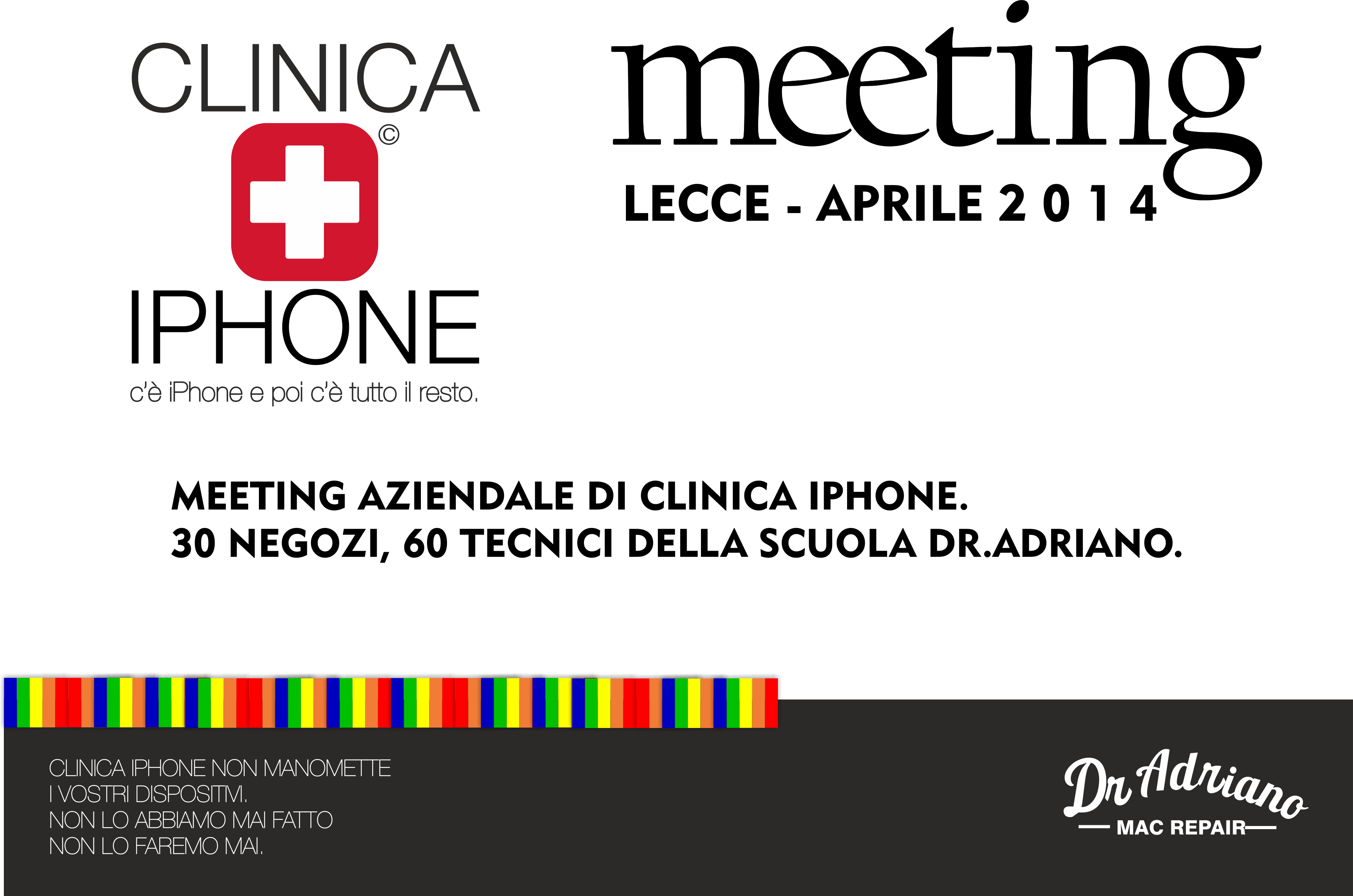 ATTESTATO MEETING CLINICA IPHONE