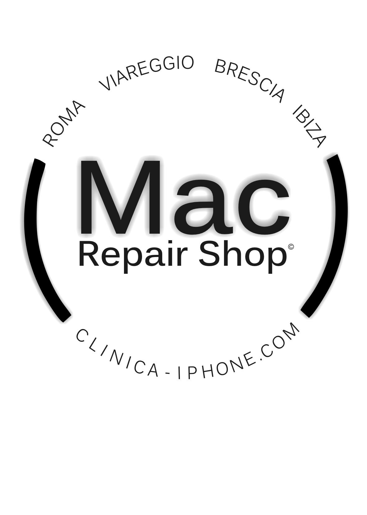 mac repair shop logo