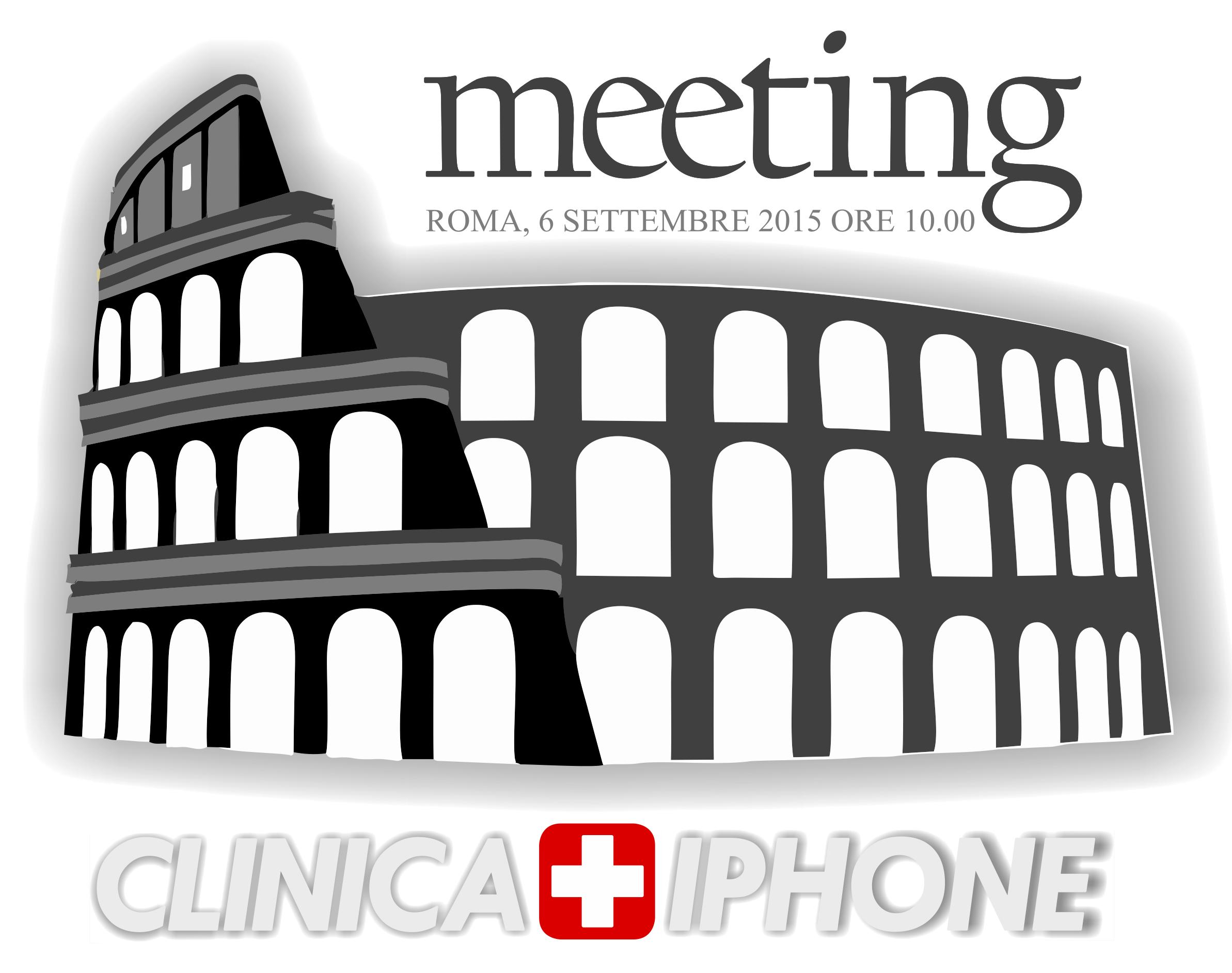 MEETING programma CLINICA IPHONE 2015
