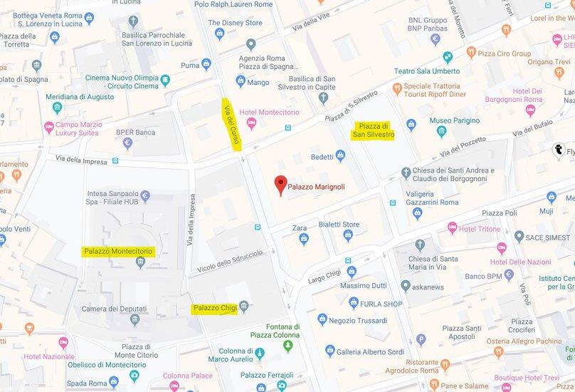 mappa apple store roma centro