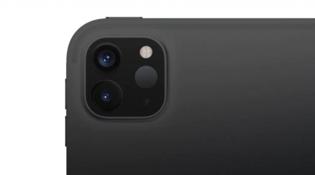 iPad Pro due fotocamere scanner lidar