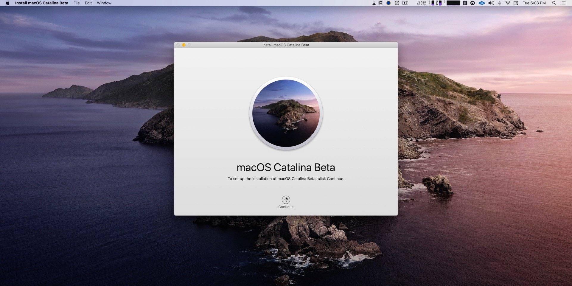 macOS-Catalina-beta-installer